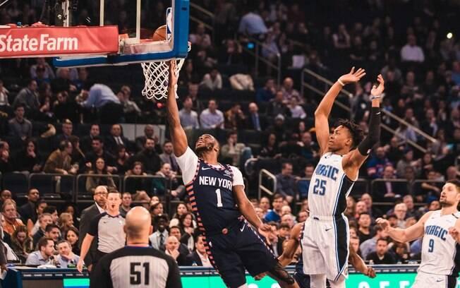 Knicks vencem o Magic em Nova York com boa atuação do banco
