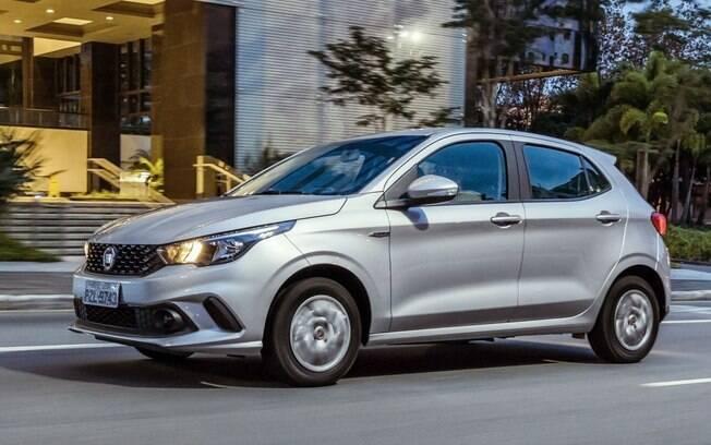 Fiat Argo saiu da oitava para a quarta posição no mês passado entre os carros mais vendidos