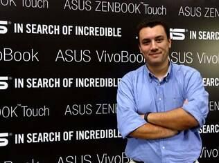 Diretor de marketing da Asus no Brasil, Marcel Campos já prepara vinda do ZenFone 2