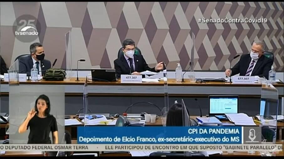 Ex-secretário executivo do Ministério da Saúde Élcio Franco