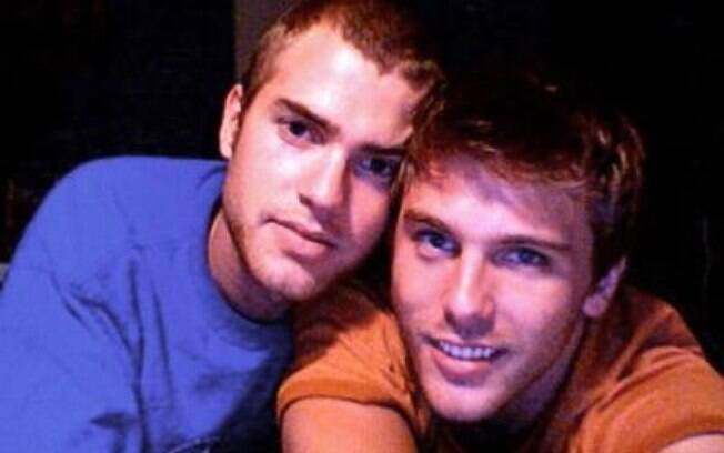 Shane e Tom em autoretrato