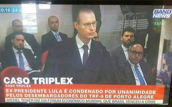 BandNews divulga condenação de Lula erroneamente durante programação