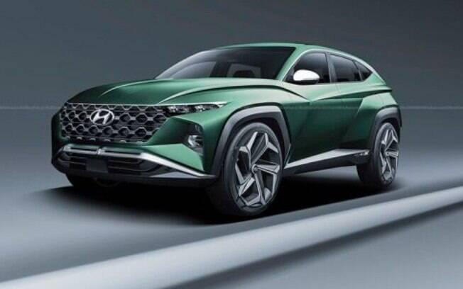 Novo Hyundai Tucson terá linhas bem próximas da versão conceitual da imagem abaixo