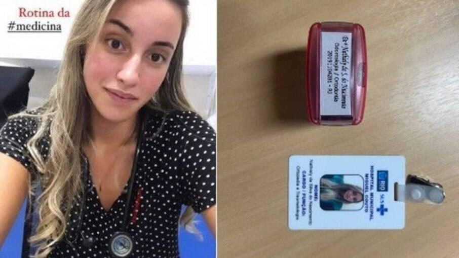 Nathiely da Silva do Nascimento, estudante de odontologia que se passava por médica