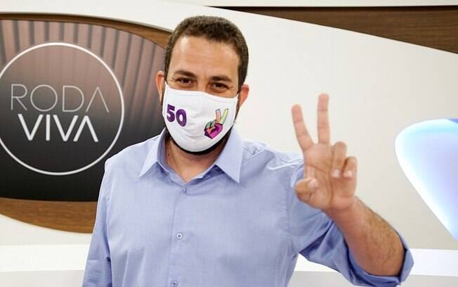 Guilherme Boulos testou positivo nesta sexta (27) para Covid-19