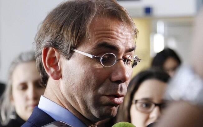 O advogado da Queiroz Galvão, José Luiz de Oliveira Neto, em entrevista em novembro. Foto: Cassiano Rosário/Futura Press