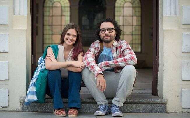 Marco Luque faz o ex-namorado de Luana Piovani, que a troca pela personagem de Juliana Paiva, bem mais nova