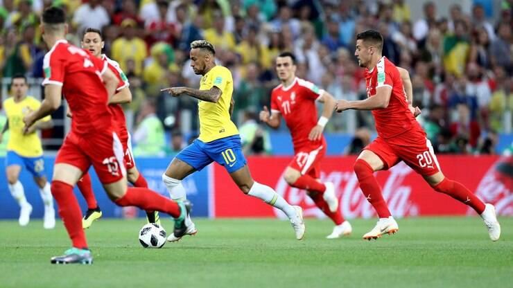 Seleção brasileira vence Sérvia e encara o México nas oitavas - Copa do  Mundo - iG 637a6839d44c1