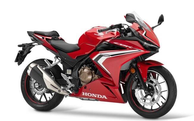 Honda CBR 500R: Esportiva já estava superada pelas rivais. Entretanto, na Europa ganha nova geração
