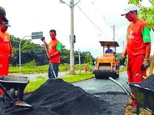 Melhorias.    Obras de revitalização foram iniciadas no Parque Sarandi