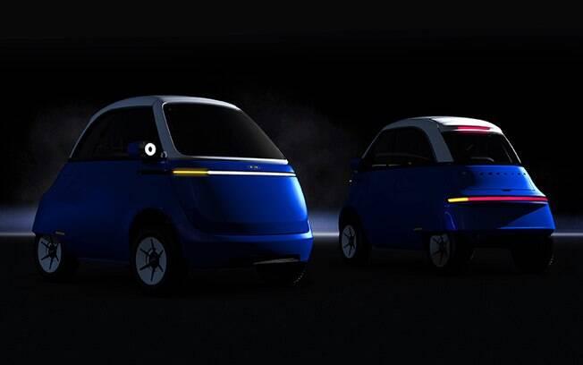 Microlino 2.0 está previsto para estrear no mercado europeu em 2021 com estilo inspirado no clássico de meados nos anos 50