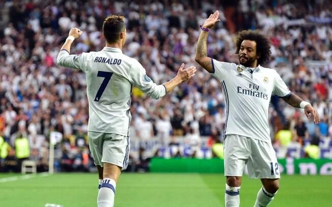 Na Juventus, lateral Marcelo pode reeditar parceria de sucesso com Cristiano Ronaldo