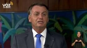 Bolsonaro cita argumento errado para rejeitar CoronaVac