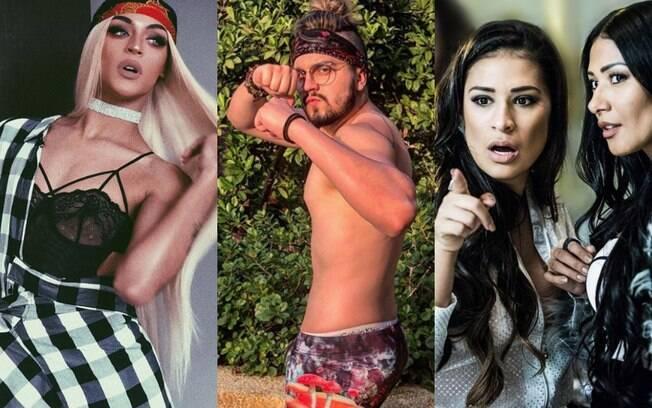 votação da campanha fan feat encerrou nesta tarde e vencedores são Pabllo Vittar, Simone e Simaria e Luan Santana