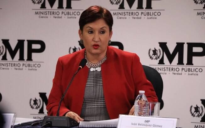 Thelma Aldana foi impedida de concorrer às eleições presidenciais na Guatemala