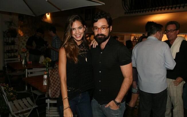 Laura Lima e Emílio Orciollo Neto