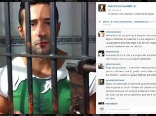 Marcos Oliver fez um vídeo pedindo ajuda de fãs