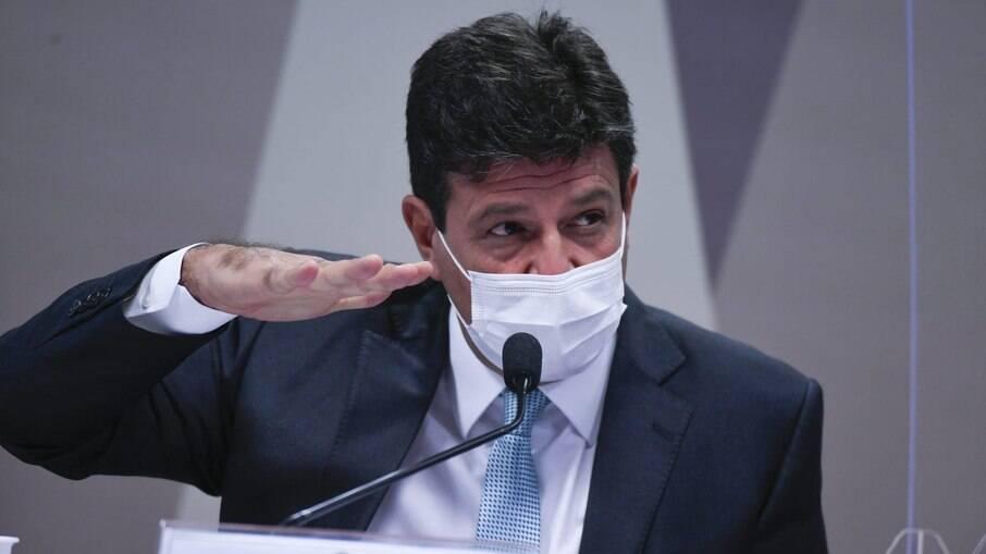 Mandetta, primeiro ministro da Saúde de Bolsonaro, depôs à CPI da Covid