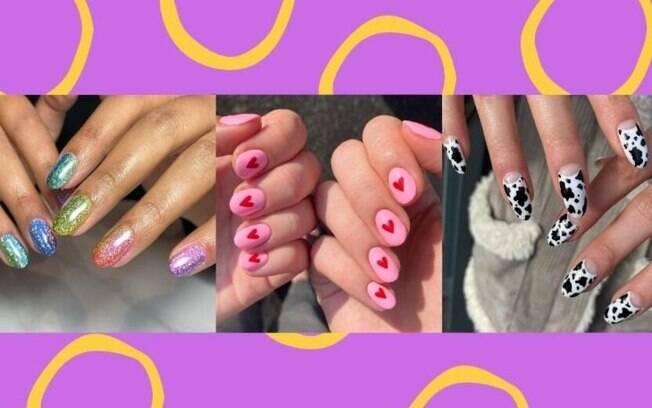 7 estilos de nail art para deixar seu Carnaval mais colorido!