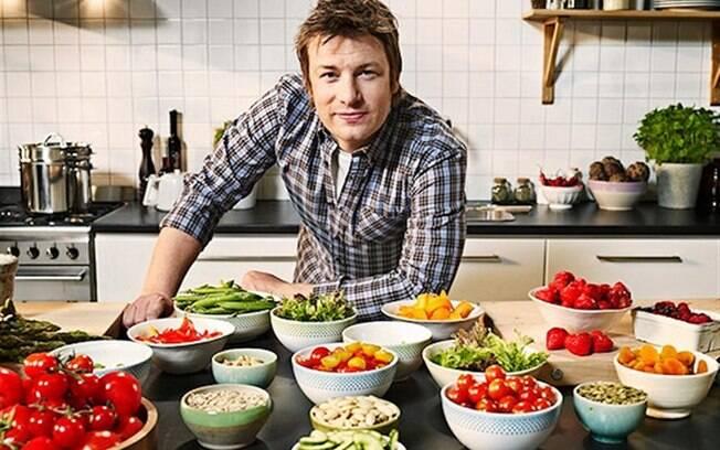 Carlos Charbel não é profissional como Jamie Oliver, mas compartilha da sua paixão pela cozinha