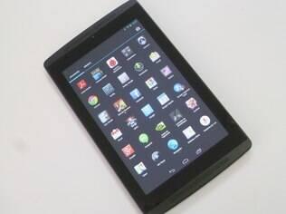 Tegra Note 7 roda Android com poucas modificações