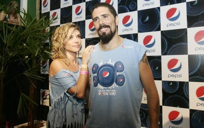 Natália Rodrigues e o marido, Tchello