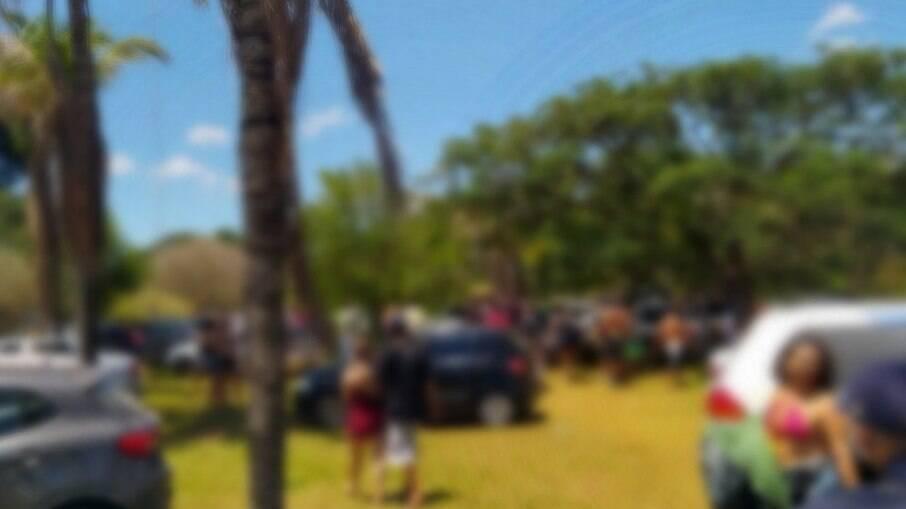 Rave clandestina com mais de 500 pessoas é encerrada pela polícia