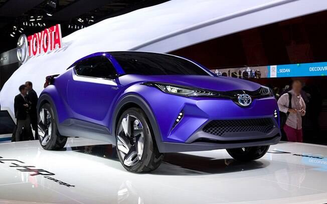Conceito do Toyota C-HR