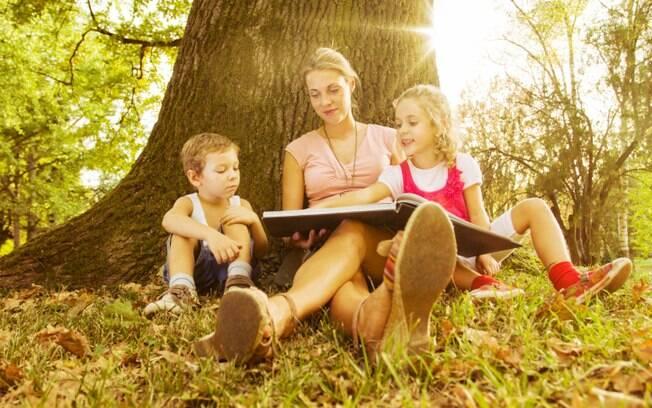 A leitura é uma ótima atividade