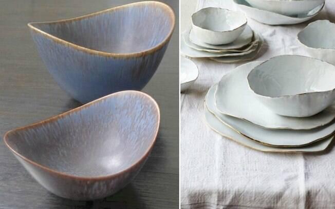 De acordo com o levantamento, utensílios feitos de cerâmica são tendência e dão uma cara mais moderna à mesa