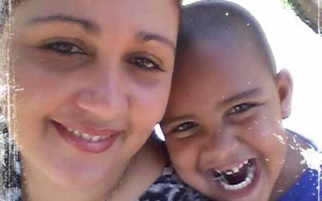 Matheus Gabriel e a mãe