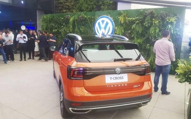 VW T-Cross 2019. Foto: Caue Lira/iG