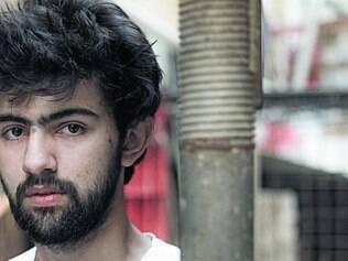 Diogo Liberano comandou um grupo de performances no Rio