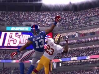 O game Madden NFL 16 da histórica série de futebol americano da EA Sports
