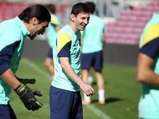 Messi treinou normalmente durante a semana e deve entrar contra o Getafe para ganhar ritmo de jogo