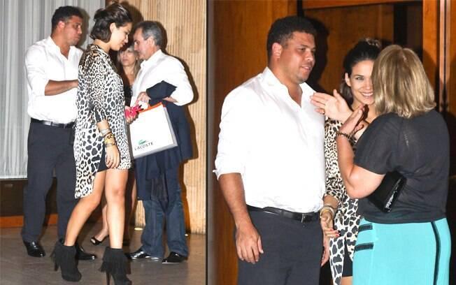 Ronaldo e Bia Antony se despedem dos amigos