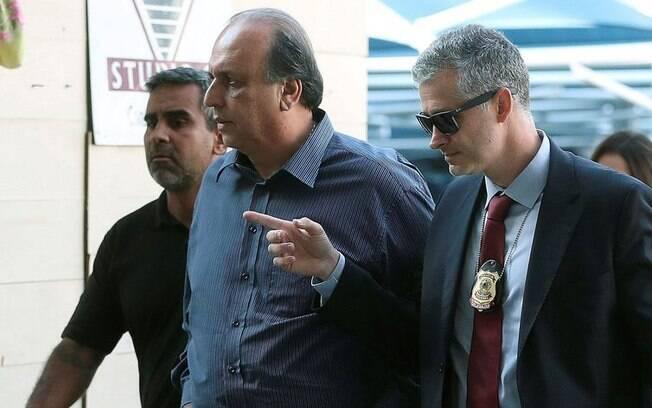 Governador do Rio de Janeiro, Luiz Fernando Pezão, foi preso na manhã da última quinta-feira (29) no Palácio Laranjeiras