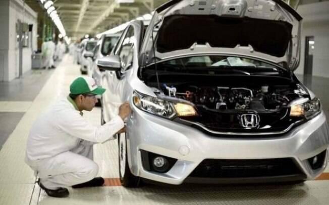 Fábrica da Honda em Sumaré (SP),  onde são produzidos os modelos Fit, City, Civic e HR-V