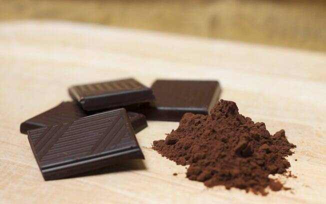 CHOCOLATE MEIO AMARGO. Foto: Getty Images