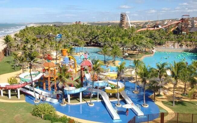 O Beach Park recebe um milhão de pessoas por ano