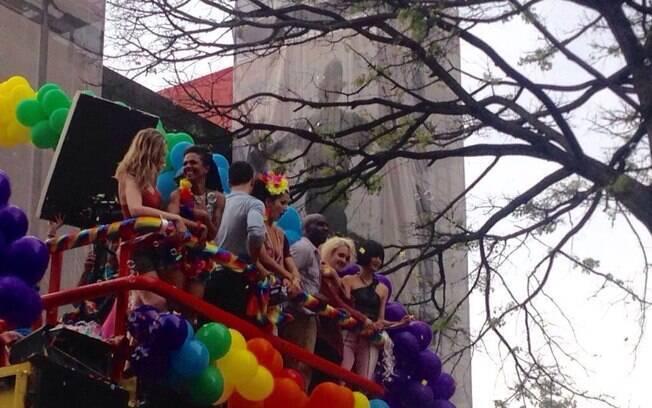 Parada do Orgulho LGBT%2C em São Paulo