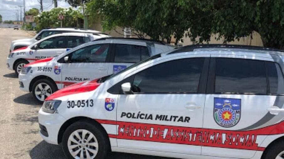 Viaturas da Polícia Militar de Maceió