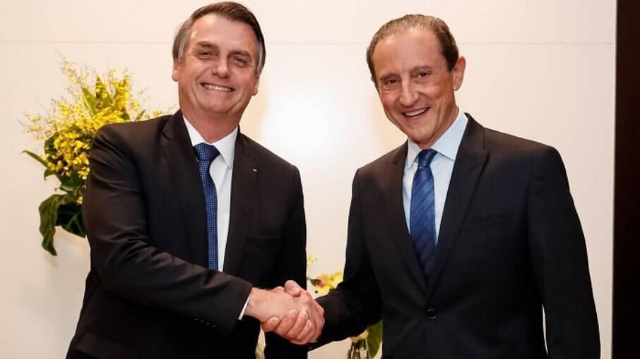 Paulo Skaf é um dos principais apoiadores do presidente Jair Bolsonaro