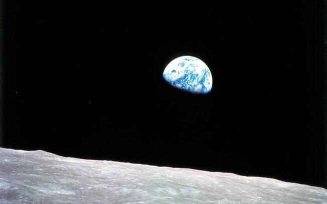 A foto da Terra na missão Apollo 8, por Bill Anders