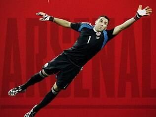Goleiro David Ospina foi um dos destaques da Colômbia durante a Copa do Mundo no Brasil