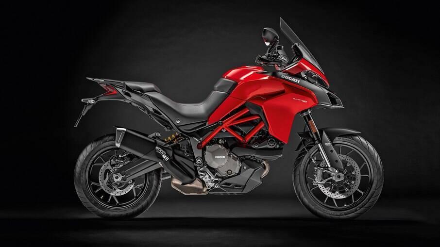 Ducati Multistrada 950 S: modelo pode vir com três tipos de pacotes de acessórios: Urban, Enduro e Touring