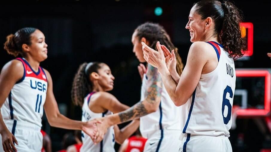 EUA conquistam sétimo ouro seguido no basquete feminino