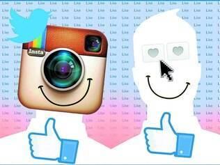 Realidade. Pelas redes sociais, cada um pode aprender sobre as viagens, vida social e preferências alimentares do outro