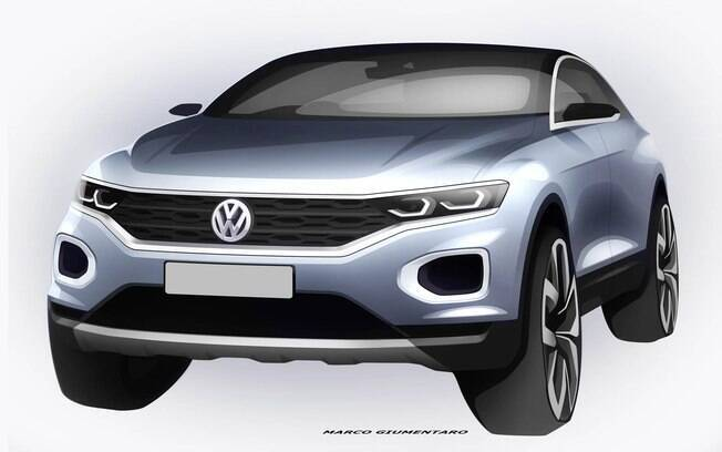 Volkswagen T-Roc terá linhas fluidas, com ares de cupê, como em alguns SUVs como o Mercedes-Benz GLC