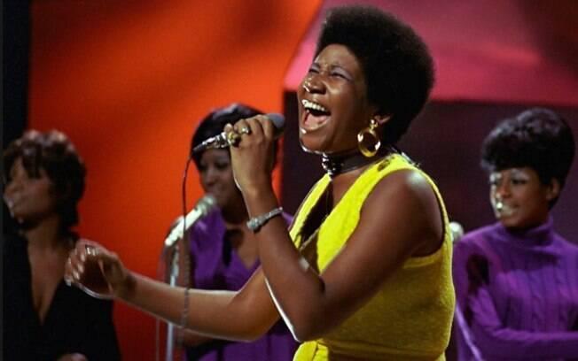 Aretha Franklin é considerada uma das maiores cantora do Soul